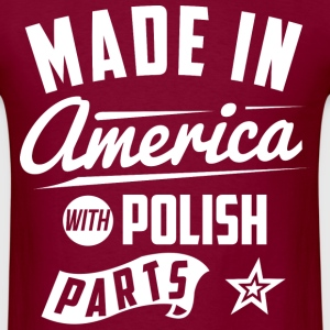 American Polish T-Shirts - Men's T-Shirt