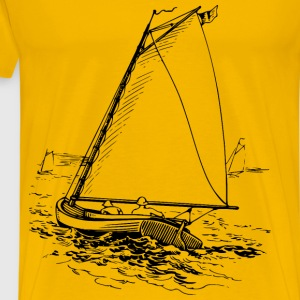 Sailboat 2 - Men's Premium T-Shirt