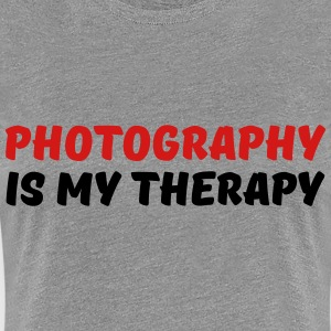 Photography is my therapy T-Shirts - Women's Premium T-Shirt