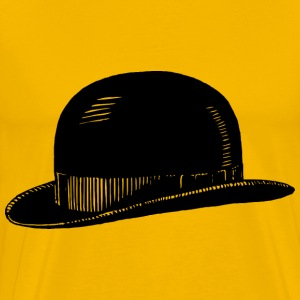 Bowler hat - Men's Premium T-Shirt