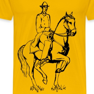 Dressage horse - Men's Premium T-Shirt