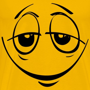 Stoned Smiley Face - Men's Premium T-Shirt
