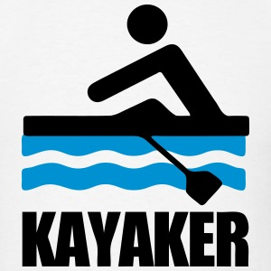 Kayaker (Kayaking) T-Shirts - Men's T-Shirt