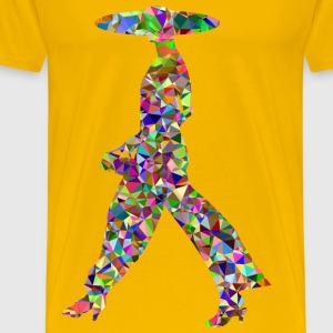 Chromatic Gem Woman Walking - Men's Premium T-Shirt