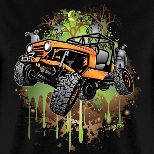 Jeep Halloween Zombie