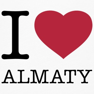 I LOVE ALMATY - Women's Flowy T-Shirt