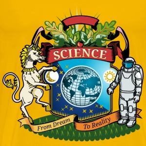 coat of arms for science - Men's Premium T-Shirt