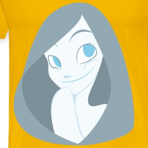 Cartoon Lady - Men's Premium T-Shirt