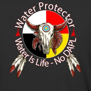 Water Protector No DAPL Pipeline - Baseball T-Shirt