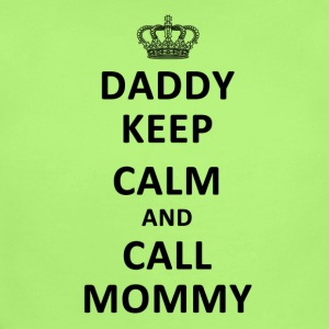 Daddy Keep Calm and Call Mommy Baby Bodysuits - Short Sleeve Baby Bodysuit