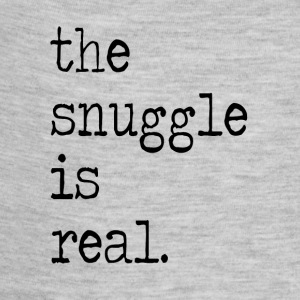 The Snuggle Is Real Baby Bodysuits - Baby Contrast One Piece