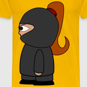 Chibi Ninja Girl - Men's Premium T-Shirt