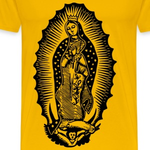 Virgin of Guadalupe - Men's Premium T-Shirt