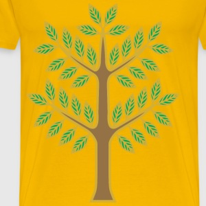 Stylised tree - Men's Premium T-Shirt