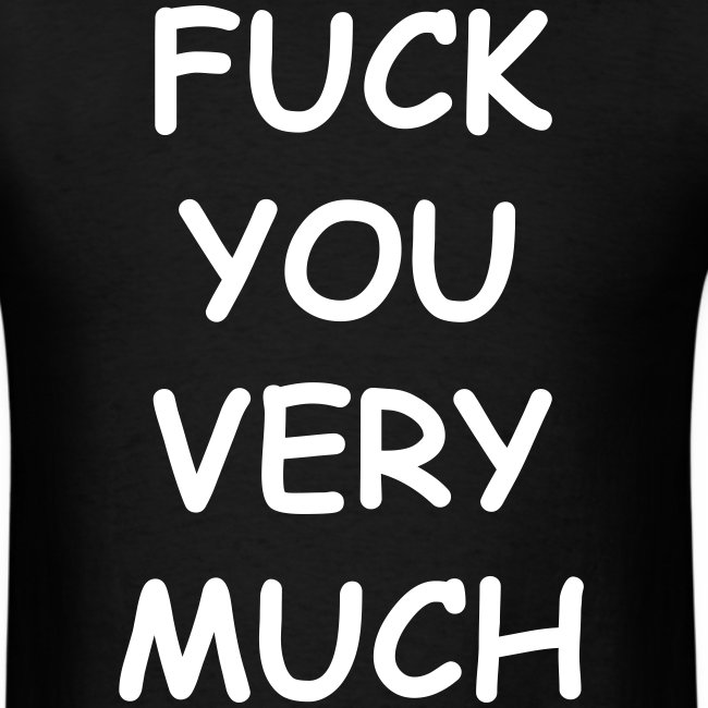 Fuck You Very Much Slash t-shirt