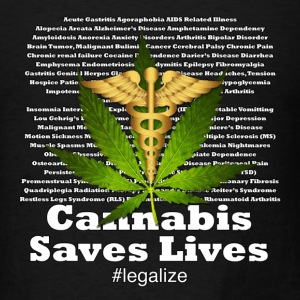 Cannabis Saves Lives - Men's T-Shirt
