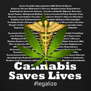 Cannabis Saves Lives - Women's T-Shirt