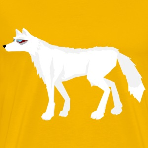 Frost wolf without background - Men's Premium T-Shirt