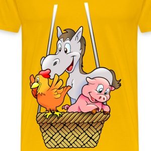 Farm animals T-Shirts - Men's Premium T-Shirt