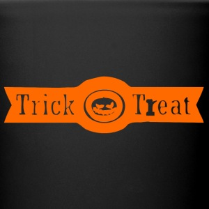 Halloween Trick or Treat orange Mugs & Drinkware - Full Color Mug