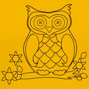 Owl 3 - Men's Premium T-Shirt