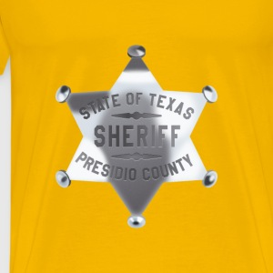 Sheriff badge - Men's Premium T-Shirt
