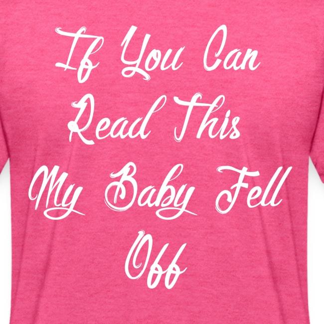 Babywearing baby fell off script