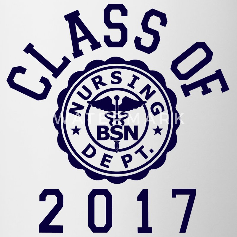 Class Of 2017 BSN Mugs & Drinkware - Contrast Coffee Mug