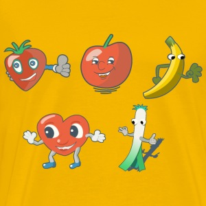 fun fruits - Men's Premium T-Shirt