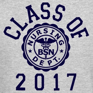 Class Of 2017 BSN Long Sleeve Shirts - Crewneck Sweatshirt