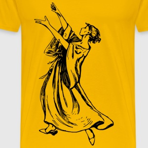 Dancing lady 5 - Men's Premium T-Shirt