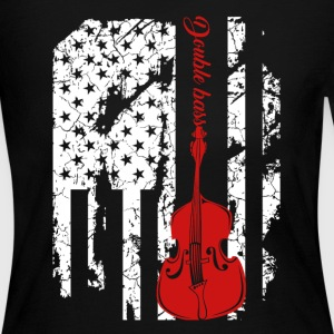 Double Bass Flag Shirts - Women's Long Sleeve Jersey T-Shirt