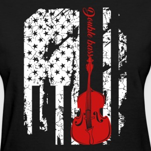 Double Bass Flag Shirts - Women's T-Shirt