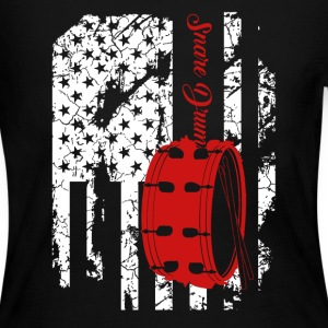 Snare Drum Flag Shirts - Women's Long Sleeve Jersey T-Shirt