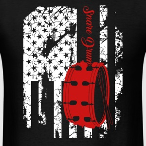 Snare Drum Flag Shirts - Men's T-Shirt