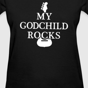 My Godchild Rocks cute - Women's T-Shirt