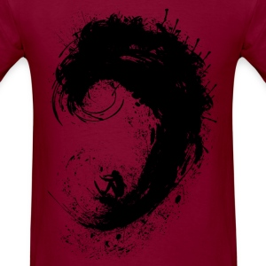 Surfer ink splash Men's T-Shirt - Men's T-Shirt