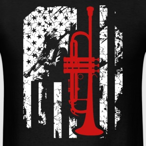 Trumpet Flag T shirt - Men's T-Shirt