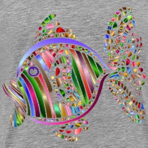 Abstract Colorful Fish 2 - Men's Premium T-Shirt
