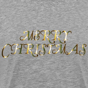 Merry Christmas 4 No Background - Men's Premium T-Shirt