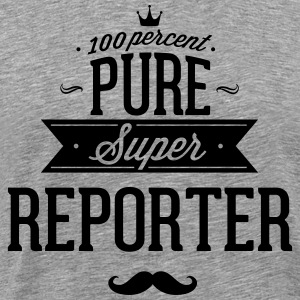 100 percent pure super reporter T-Shirts - Men's Premium T-Shirt
