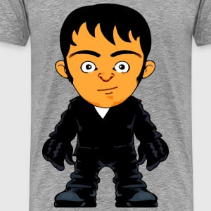 Cartoon man 6 - Men's Premium T-Shirt