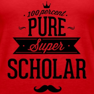 100 percent pure super scholar Tanks - Women's Premium Tank Top