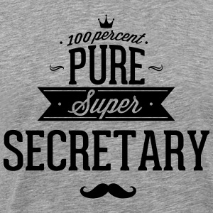 100 percent pure super secretary T-Shirts - Men's Premium T-Shirt