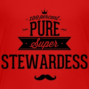 100 percent pure super stewardess Kids' Shirts - Kids' Premium T-Shirt