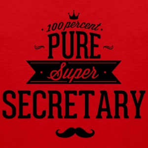 100 percent pure super secretary Sportswear - Men's Premium Tank