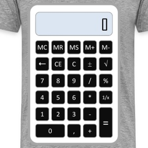 Calculator - Men's Premium T-Shirt