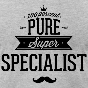 100 percent pure super specialist T-Shirts - Men's T-Shirt by American Apparel