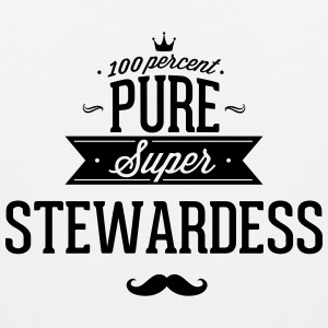 100 percent pure super stewardess Sportswear - Men's Premium Tank