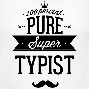 100 percent pure super typist T-Shirts - Women's Maternity T-Shirt